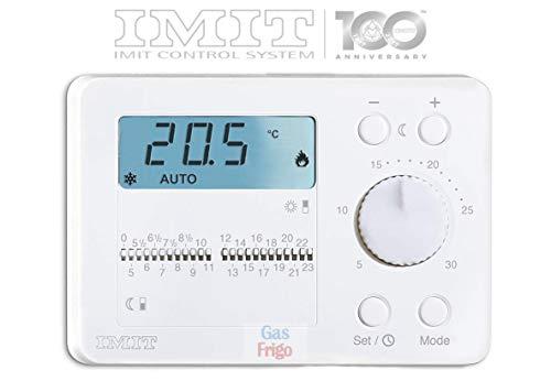 IMIT TECHNO DUO Digitale Raumthermostat mit Zeitschaltuhr -
