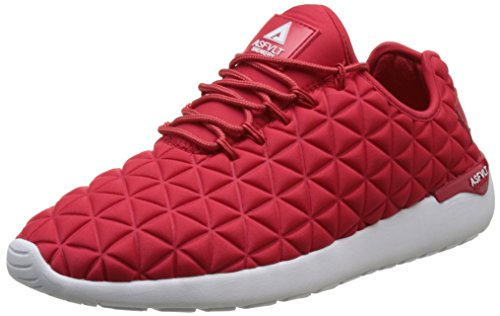 Asfvlt Unisex-Erwachsene Speed Sneaker Rouge (Red Triangle)