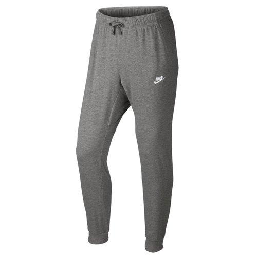 Nike M NSW PANT CF JSY CLUB - Hosen Grau - L - Herren (Pant Für Männer Von Nike)