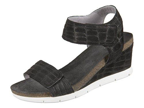 15045 Black Croco Suede 590 black Größe: EU38 Farbe: black