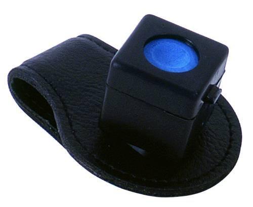 Kreidehalter Magnet Clip Leder (ohne Inhalt)