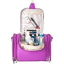 iShine bolso mujer bolsa de cosméticos de viaje portáti con Funciones múltiples 3 colores