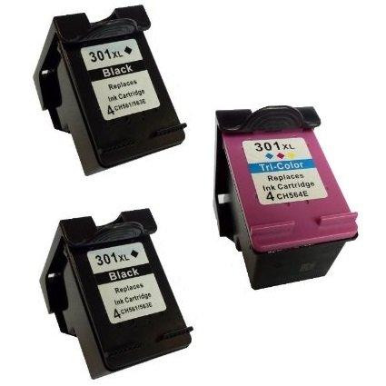 Preisvergleich Produktbild Prestige Cartridge HP 301x L Tintenpatronen, kompatibel mit Drucker HP Deskjet Serien 3 Black/Colour