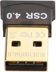 Pruthvik Bluetooth Gold Plated Adapter, CSR 4.0 USB Dongle Receiver/Transfer (USB 4.0 BLUETOOTH GOLDEN)