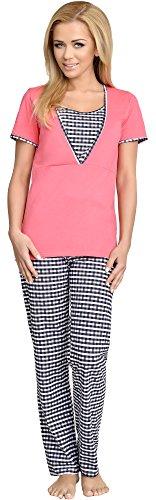Be Mammy Womens Nursing Pyjama Set V1L2R32