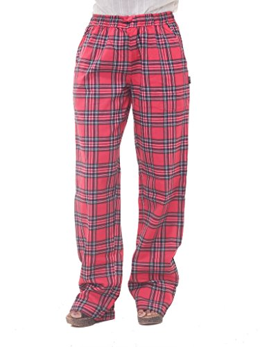 Twist Women's Multicolor Checked 100% Pure Cotton Pyjama Sleepwear Night Wear Comfy Pant For A Breezy winter Plus Size Also Available