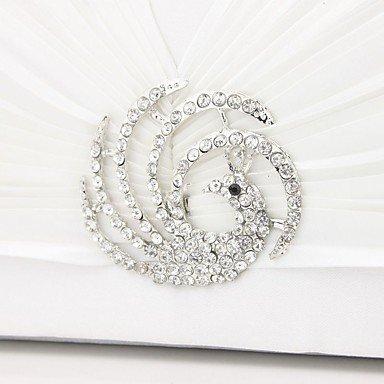 Einklappen des Entleerrohrs Handtasche der Pfau diamond Silk Tasche chain bag Textur weiblichen Beutel set Silver