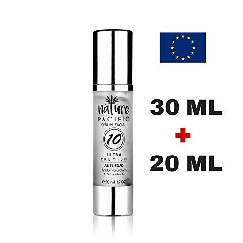 Serum Facial Hidratante (ANTI-EDAD) Antioxidante, Reduce las arrugas de la piel