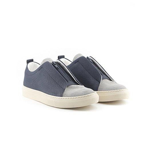 Hecho En Italia Gregorio Blue Man Sneakers