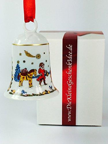 Hutschenreuther Porzellan Weihnachtsglocke 2003 in neutraler Geschenkverpackung NEU 1.Wahl