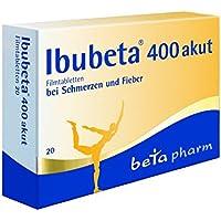 Ibubeta 400 mg akut Tabletten, 20 St. preisvergleich bei billige-tabletten.eu