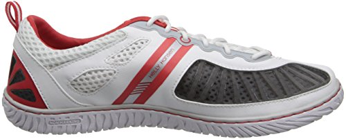 Helly Hansen W Hydropower 4, Chaussures de Sport Femme Multicolore - Blanco / Gris (001 White / Light Grey / Coral)