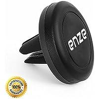 Enze soporte magnético, Enze Universal Air Vent soporte magnético de coche soporte para teléfonos móviles, tablets, GPS. Más fuerte imán. Nuevo diseño. Mejor calidad iphone, ipad, Android, Microsoft, GPS, superficie
