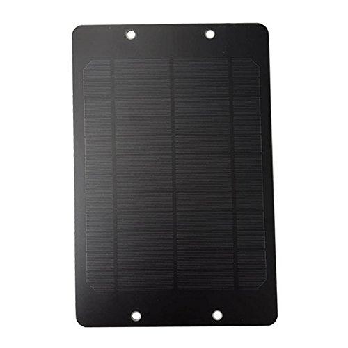 * SODIAL es una marca registrada. Solo el vendedor autorizado de SODIAL puede vender los productos de SODIAL. Nuestros productos va a mejorar su experiencia de la inspiracion sin igual. SODIAL(R) 6V 6W Panel solar Con caja de conexiones Para el siste...