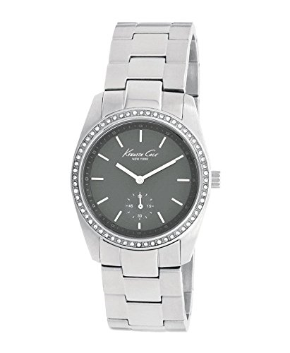Kenneth Cole Women's Quartz Watch with Mother of Pearl Dial Analogue Display and Silver Stainless Steel Bracelet KC4721 (Certified Refurbished)