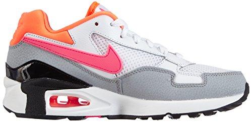 Nike Air Max ST, Chaussons Sneaker Femme Noir (Black/Hot Lava-Menta-Wolf Grey)