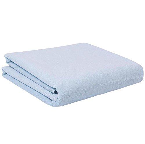 MEYLEE Hochwertige Baumwolle Ultra wasserdicht Blatt und Matratzenschoner 145 × 90cm , blue