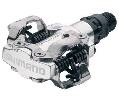 Shimano - EPDM520S, Pedale per Mountain bike, colore: Argento, 2 pezzi
