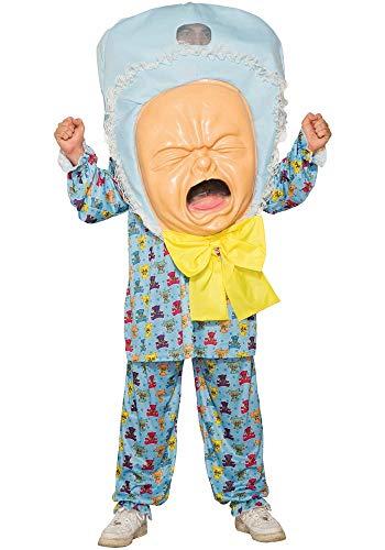 Mr.Giggelz Big Baby Kostüm - Big Baby Kostüm Maske