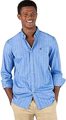 El Ganso Urban cotland 1 Camisa casual, Azul (Azul 0040), mall para Hombre