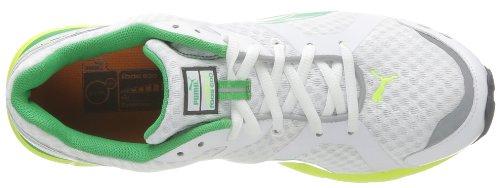 Puma Pumafox V2 - Scarpa, , taglia Bianco (Blanc (White/Yellow/Island Green))