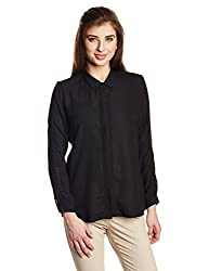 Arrow Womens Body Blouse Shirt (ASRW12534_Black_Small)
