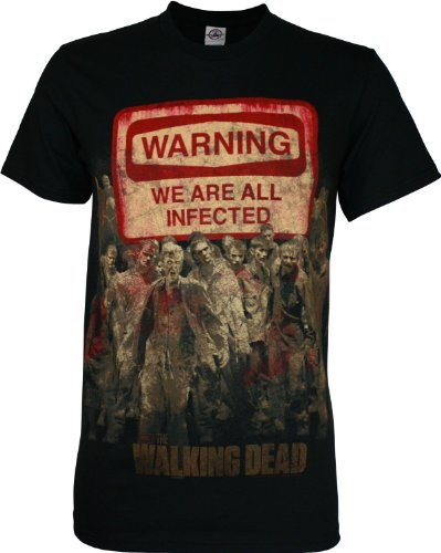 walking-dead-warning-sign-zombie-horde-amc-tv-show-erwachsene-t-shirt-select-shirt-size-small