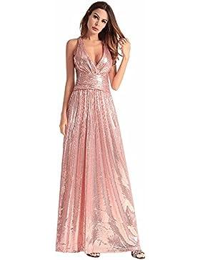 SJMMQZ Hermoso vestido de dama de honor vestido de noche sexy