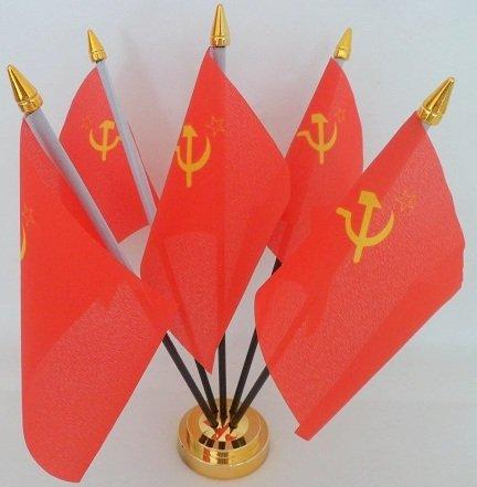 URSS hoz martillo Rusia Unión Soviética 5Bandera