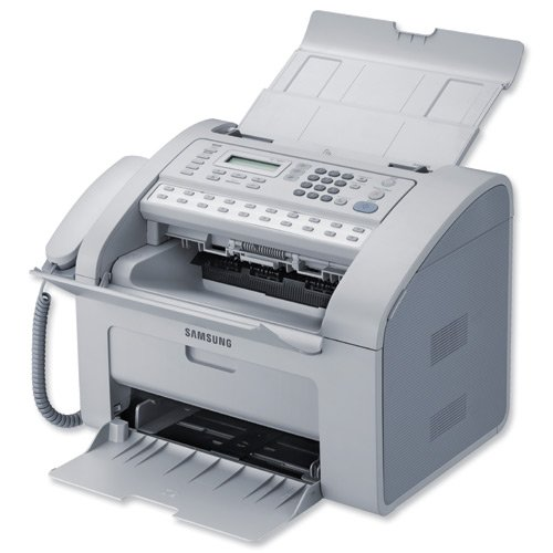 Image of Samsung SF-760P/SEE Laser Multifunktionsdrucker (5-in-1: Drucken, scannen, kopieren, faxen, Telefon)