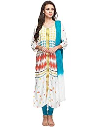 STOP To Start Shoppers Stop Womens Round Neck Printed Churidar Suit