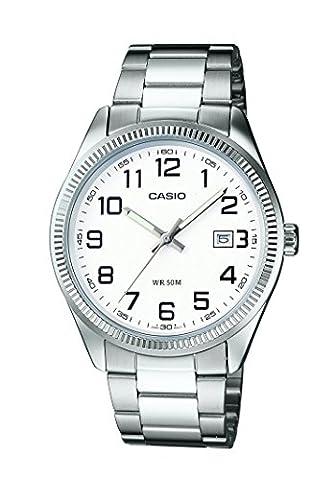Casio Collection – Herren-Armbanduhr mit Analog-Display und Edelstahlarmband – MTP-1302PD-7BVEF