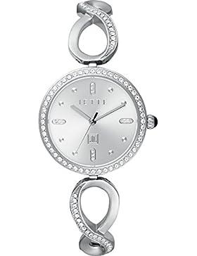 JETTE Time Damen-Armbanduhr Endless Love Analog Quarz One Size, silberfarben, silber
