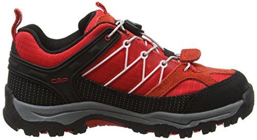 CMPRigel - Scarpe da trekking e da passeggiata Bambino Rosso (Lacca C675)