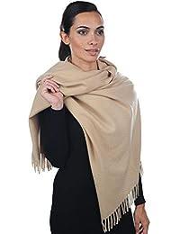 Accessoire Top Tendance Écharpe Femme Étole Pashmina Cachemire Foulard  Châle Automne – Hiver Touché Soyeux Couleur ac77209a20d