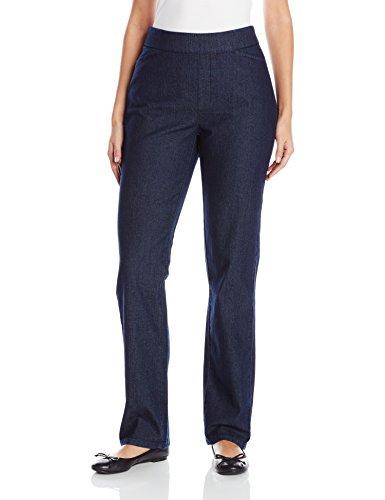 Chic Classic Collection Damen Hose mit elastischem Bund - Blau - 42 Durchschnittlich - Womens Classic Collection