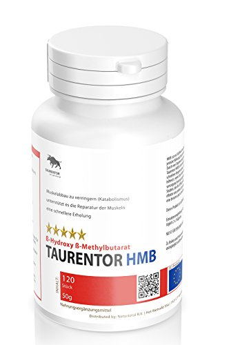HMB Beta-Hydroxy-Beta-Methylbutirat Reduzierung des Katabolismus (Muskelabbau)120 Stück, 50g -