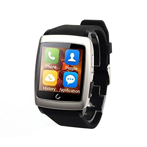 Peibo SW401impermeabile orologio intelligente WiFi Bluetooth GPS Navigator per Android Phone, monitoraggio del sonno, bussola cronometro, contapassi, Sliver