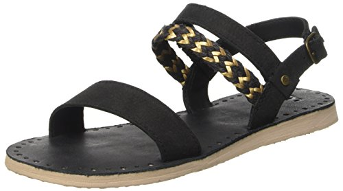 ugg-womens-elin-flat-sandal-black-5-bm-uk