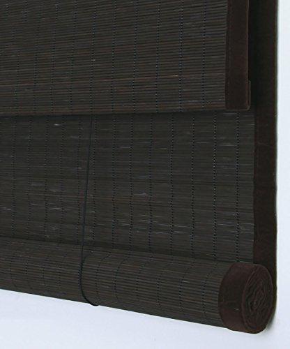 WUFENG Rideau de porte en bambou Roll Up Window Blind Anti-Insekt Para Puertas Balcon Salon Teestube, D, 90 * 150cm