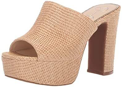 Camree Heeled Sandal, Natural