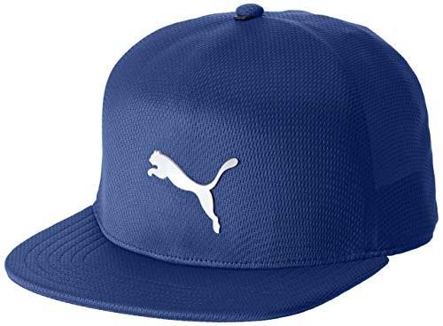 Puma Golf Mens Evoknit Fitted Cap - Sodalite Blau - M/L Blau Fitted Hat Cap