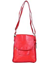 Darash Fashion Stylish Ladies Cross Body Bag Red-Bag-113