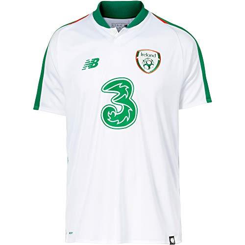 NEW BALANCE Herren Irland 2018 Auswärts Fußballtrikot weiß L -