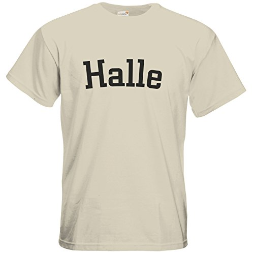 getshirts - Best of - T-Shirt - City - Halle - natural XXL
