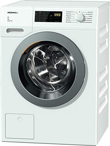 Miele WDD 035 WCS Series 120 Frontlader Waschmaschine / 1400 UpM / mit 8 kg Schontrommel / Startvorwahl und Restzeitanzeige / Einfache Bedienung per Fingertipp mit DirectSensor -