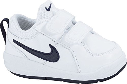 Nike Pico 4 (TDV), Jungen Sneakers, Weiß (White/Midnight Navy), 19.5 EU (3.5 Kinder UK) (Navy Schuhe Midnight)