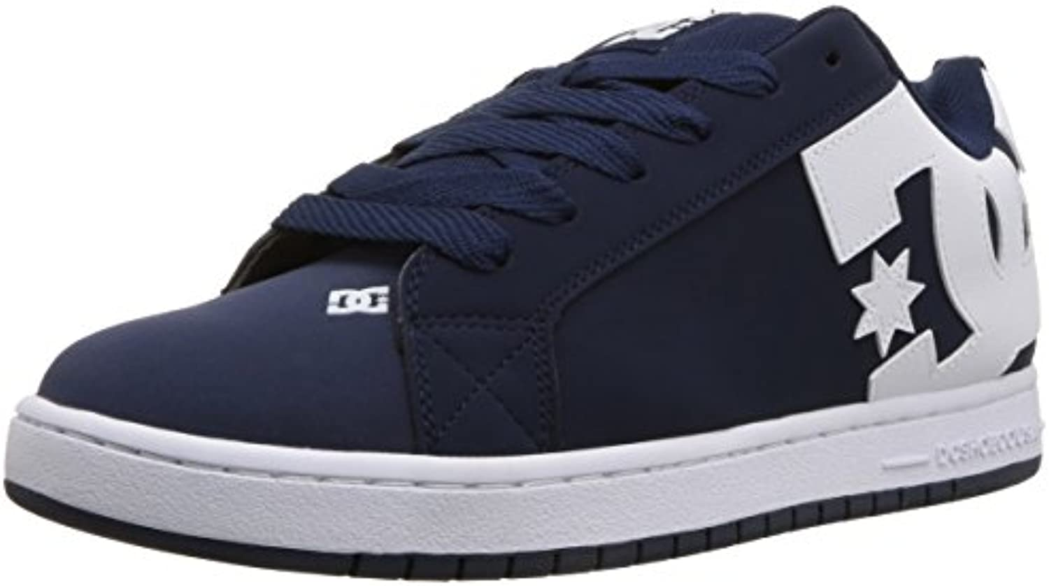 DC scarpe Men's Court Graffic Low Top Navy scarpe da ginnastica scarpe Navy Top blu Wht (NVW) 12 b242e6