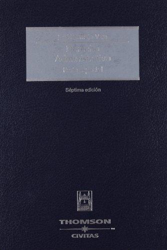 Derecho administrativo - Parte especial (Tratados y Manuales de Derecho)