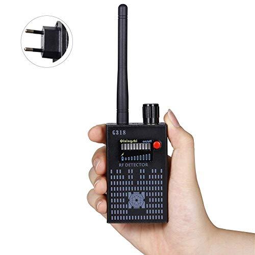 Preisvergleich Produktbild Drahtloser Kamera-Detektor,  Anti-Spion Amplification Signal Detektor Frequenz Scanner für Erkennen Funkwellen,  RF Bug Camera,  2G,  3G,  4G Handy SIM-Kartenfehler,  GPS-Locator,  Versteckten Kamerageräten